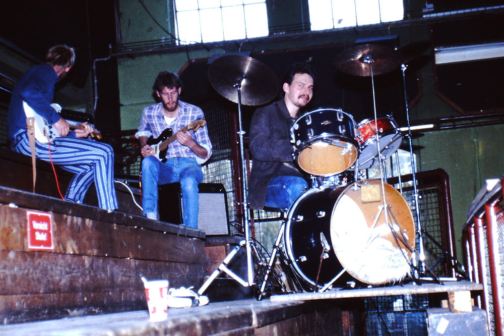 Generalprobe Alles SAT-Theater im Pumpwerk Wilhelmshaven 1986 (Foto: Dirk Berloge)